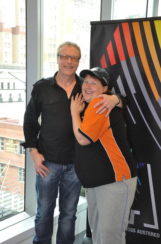 Sue and Brian Carlton, AKA the Spoonman