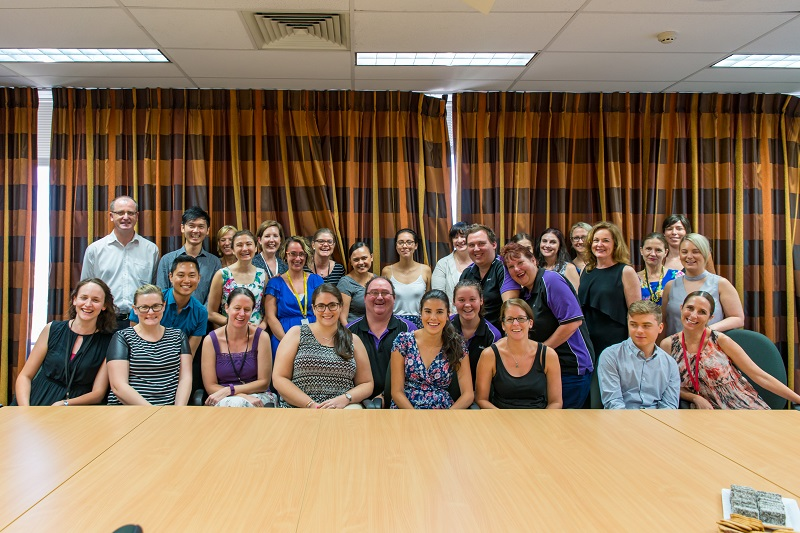 The Redkite staff group photo