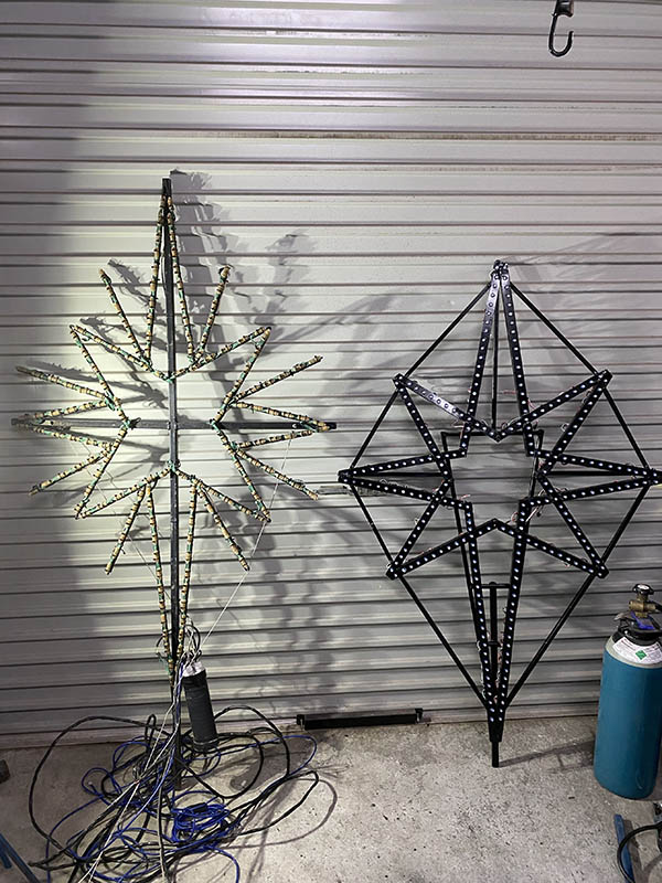 2020 - Bethlehem star old & new